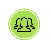 Green Minds Icons for Home Page